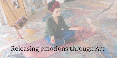 Releasing emotions through Art Tickets