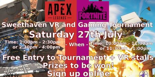 Summer Gaming Event - Fortnite & Apex Legends