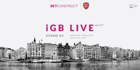 BetConstruct at iGB LiVE tickets