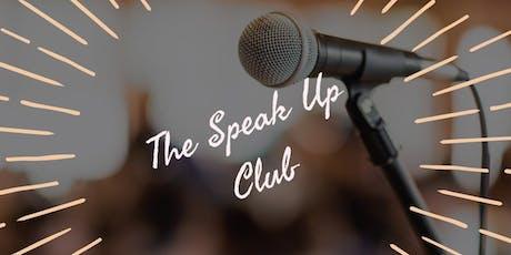 The Speak Up Club - Half-Day Public Speaking Workshop for Women tickets
