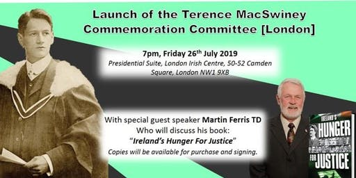 Terence MacSwiney Commemoration Committee Launch Event - with Martin Ferris