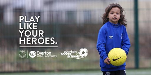 Everton Soccer School in partnership with The James Greenop Foundation & Tornado - Prescot Soccer Centre