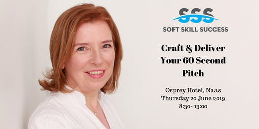 Craft and Deliver Your 60 Second Pitch