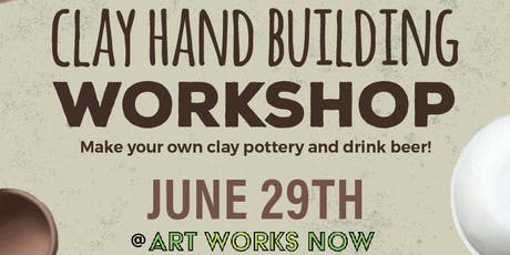 Your ABC's (Art, Beer & Clay) at AWN (Art Works Now) tickets