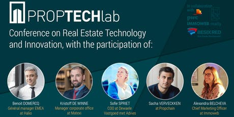 PropTech Afterworks with Matexi, HALIO, Dewaele Vastgoed, PropChain & Immoweb tickets