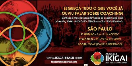 Formação em Coaching IKIGAI - São Paulo - Turma 7 - Metodologia IKIGAI ingressos