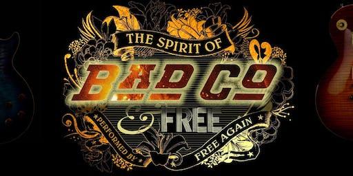 Spirit of Bad Company & Free - Live at Elgin Town Hall