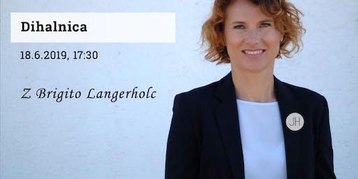 Dihanje z Brigito Langerholc