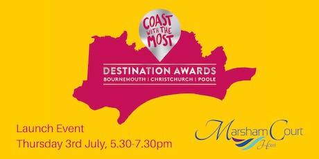 Destination Awards Launch tickets
