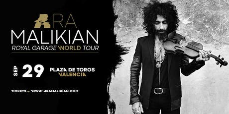 Ara Malikian en  Valencia. Royal Garage World Tour entradas