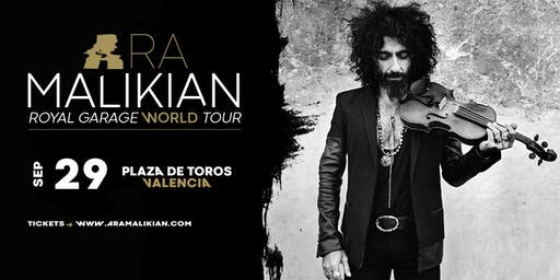 Ara Malikian en  Valencia. Royal Garage World Tour