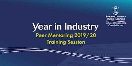 Year in Industry Peer Mentoring 2019/20 - Formal Training Session  tickets