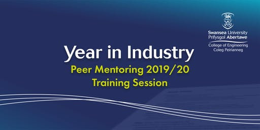 Year in Industry Peer Mentoring 2019/20 - Formal Training Session