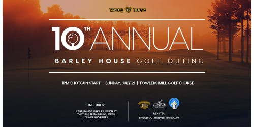 Barley House Golf Outing-10th Annual