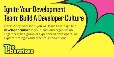 Ignite Your Development Team: Build A Developer Culture tickets