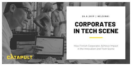 Corporates in Tech Scene tickets