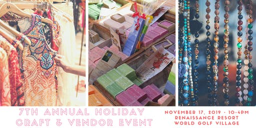 7th Annual Holiday Craft & Vendor Event
