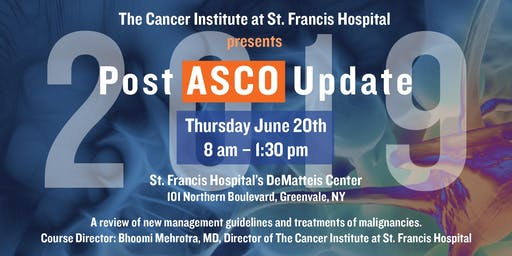 2019 Post ASCO Update