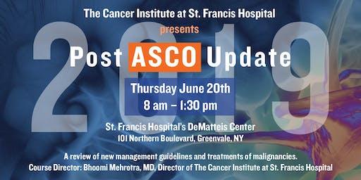 2019 Post ASCO Update