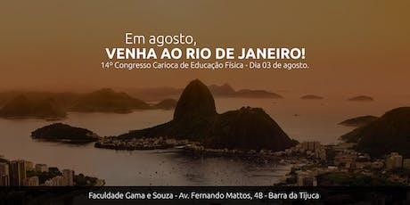 14º Congresso Carioca de Educação Física ingressos