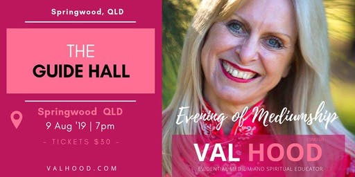 An Evening of Mediumship with Val Hood (Springwood QLD)