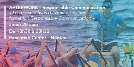 Audencia - Afterwork : Les enjeux du programme Responsable Communication billets