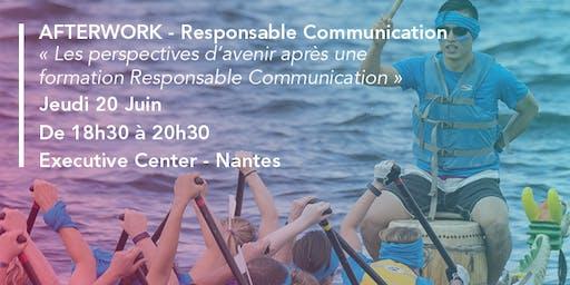 Audencia - Afterwork : Les enjeux du programme Responsable Communication