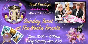 Sunday Tarot at The Nooks May - August 2019