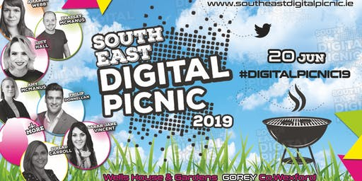SOUTHEAST DIGITAL PICNIC 2019 - Ireland's First Ever BBQ Picnic Themed Digital Marketing Conference