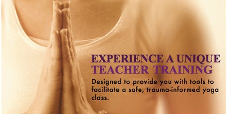 Exhale to Inhale Trauma-Informed Yoga Teacher Training @ Integral Yoga tickets