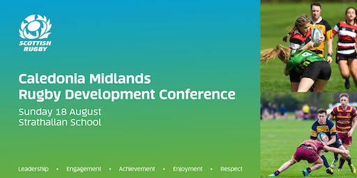 Caledonia Midlands Rugby Development Conference 2019 (Strathallan School)