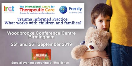 Trauma Informed Practice: What works with children and families? tickets