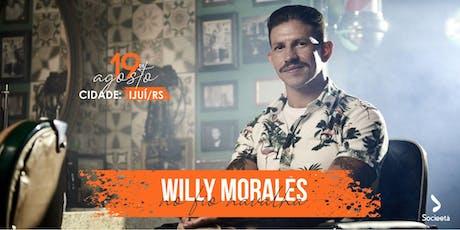 Willy Morales - No fio navalha ingressos