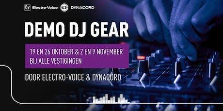 Demo DJ-gear gebruiken met Electro-Voice & Dynacord  tickets