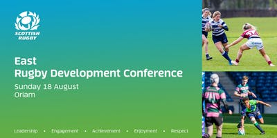 East Rugby Development Conference 2019 (Oriam)