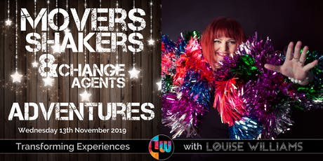 Movers, Shakers & Change Agents Event - November 2019 tickets