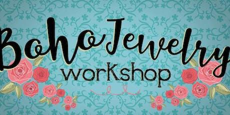 Boho Jewelry Workshop A day of Jewelry Making tickets