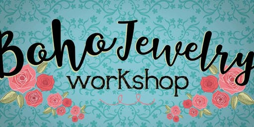 Boho Jewelry Workshop A day of Jewelry Making