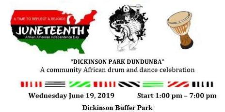 GR Juneteenth 2019 Dickinson Park Dundunba
