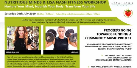 Nutritious Minds & Lisa Nash Fitness Workshop tickets