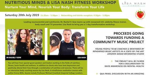 Nutritious Minds & Lisa Nash Fitness Workshop