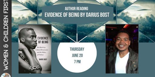 Author Reading: Evidence of Being by Darius Bost