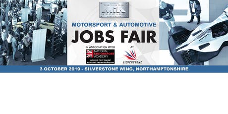 MIA Motorsport & Automotive Jobs Fair tickets