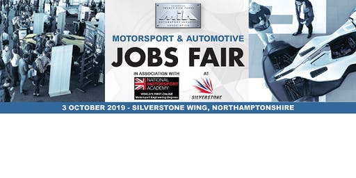 MIA Motorsport & Automotive Jobs Fair