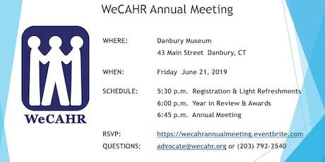 WeCAHR Annual Meeting tickets