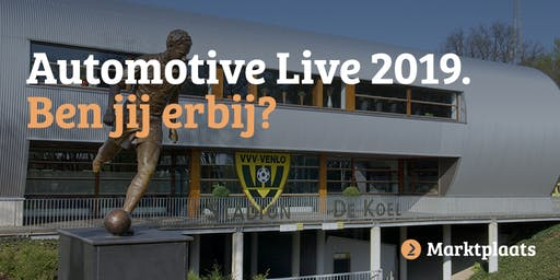 Marktplaats Automotive Live bij VVV-Venlo - 25 juni 2019