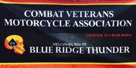 CVMA 27-4 5th Annual Blue Ridge Thunder tickets