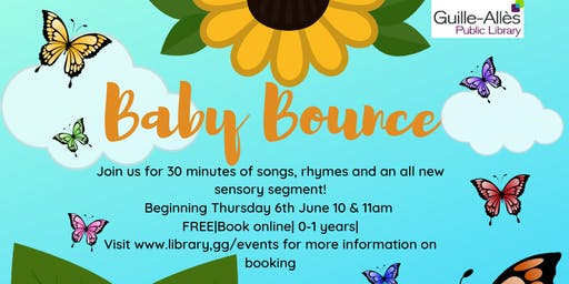 Baby Bounce @11am