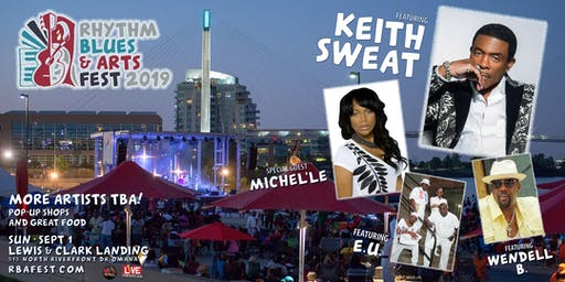2019 Rhythm Blues & Arts Fest - This Year Keith Sweat Make It Last Forever!