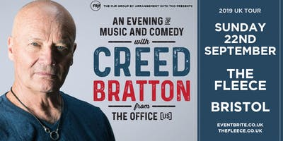 Creed Bratton From The Office (US Version) (The Fleece, Bristol)
